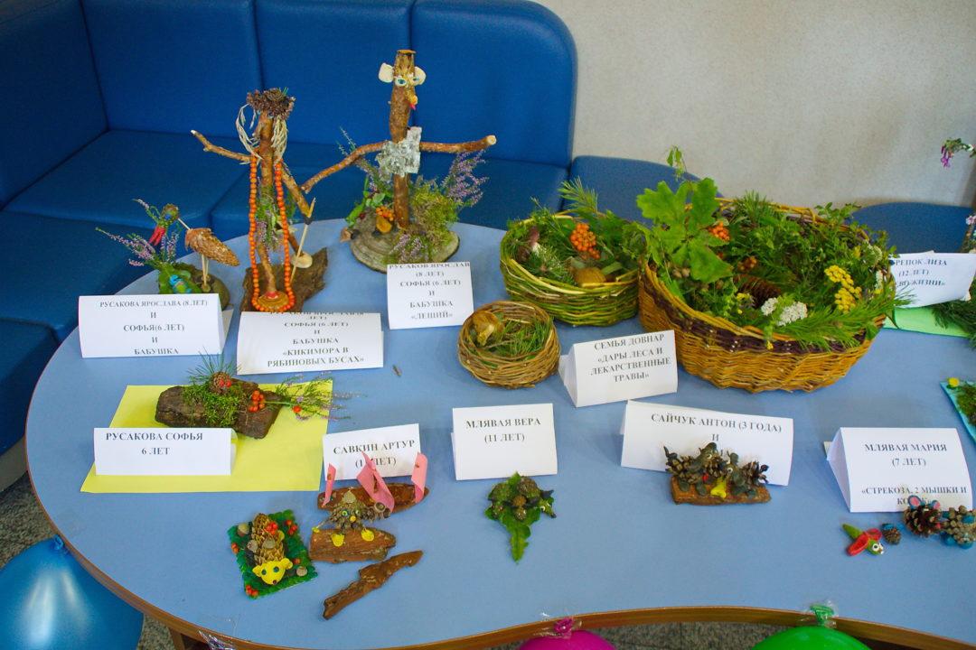 Конкурс поделок из природного материала природа и фантазия