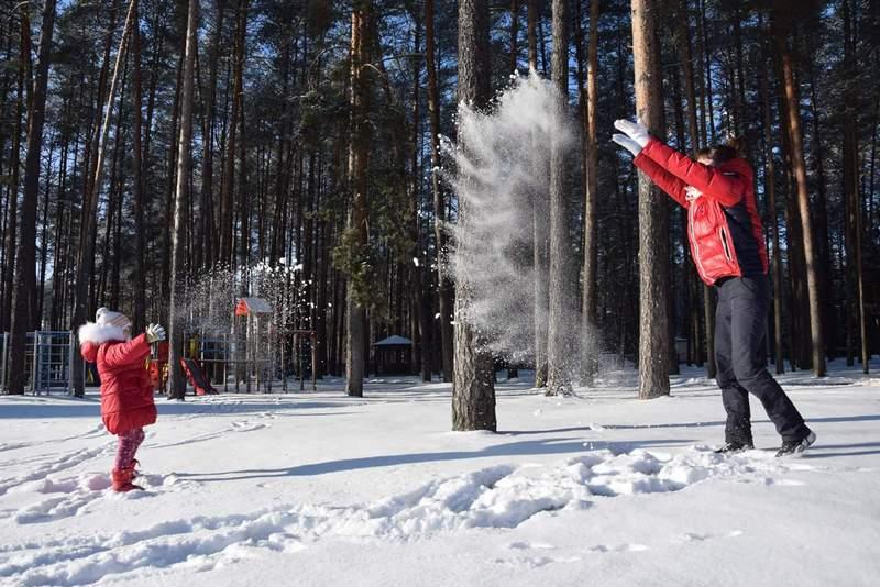 Зимние забавы в «Алесе»